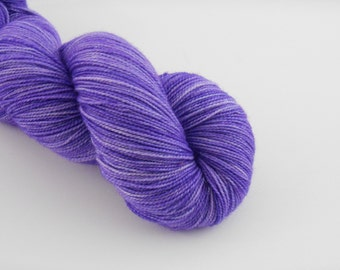 PETILLANTE SOCK,  Lilas, merino nylon sock yarn ,100g