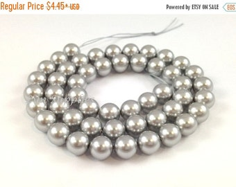 Summer Sale 6mm LIGHT GREY 5810 Swarovski Crystal Pearls 50pcs or 100pcs