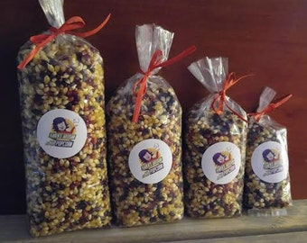 2 lb Gourmet Popcorn Kernel Mix - Made in Vermont - From organic Vermont and Canadian farms!