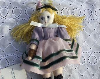 Madame Alexander grey and creme Little Shaver doll