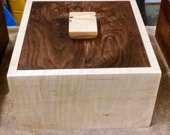 Tiger Maple Wood Box