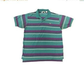 SUMMER SALE Vintage Thin Collared Shirt