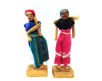 Peruvian Folk Dolls