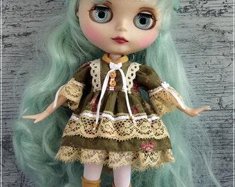 Dress  Blythe Pullip   1/6 BJD