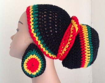 Rasta color wrap