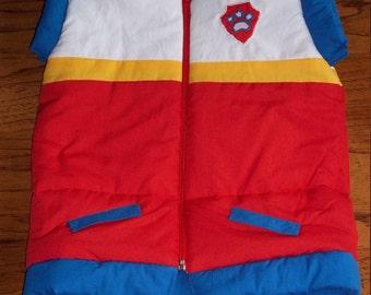 Paw Patrol Ryder-inspired vest