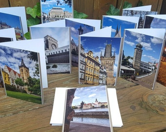 Greeting cards- note cards of Prague by OM Design and Photography