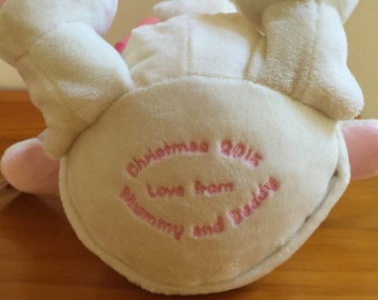 Additional Embroidery on baby toys