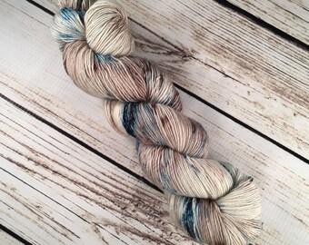 Egmont Yarn in Sandbar: Hand-Dyed Superwash Merino, Single Ply