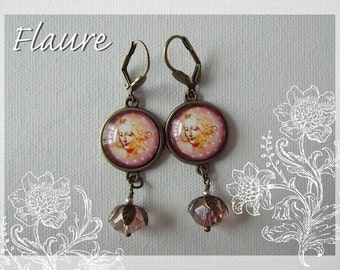 "Earrings ""Leonard de Vinci"""