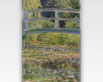 Case for iPhone 8, iPhone 6s,  iPhone 6 Plus,  iPhone 5s,  iPhone SE,  iPhone 5c,  iPhone 7,  The Japanese Bridge Waterlilies by Monet