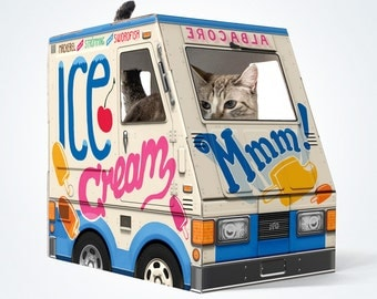 OTO Ice Cream Truck for Cats!