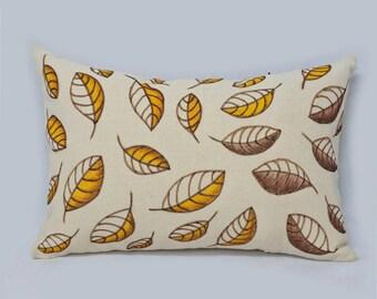 Leaves Cushion