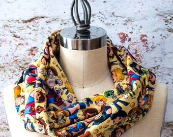 The Goonies Inspired Infinity Scarf