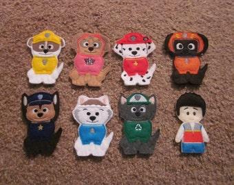 Paw Patrol Finger Puppets Set