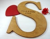 Large Wooden Wall Letters Wall Letters Guest Book Alternative Mr and Mrs Letters Large Letters for Wall Guestbook Letter Wedding Decoration
