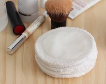 Cotons démaquillants lavables imperméables douceur maquillage soin visage écologique disques démaquillants cotons à démaquiller