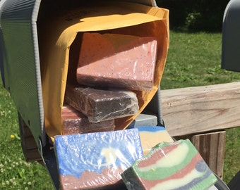 Soap-of-the-month Club - 12-month Subscription  – Get soap shipped to your door for a year