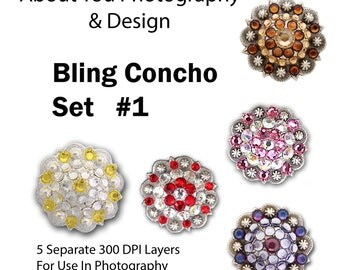Concho Bling Set 1 For Template Use