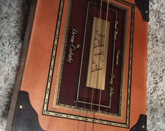 cigar Box Guitar 3string acoustic / electric handmade cllectable guitar