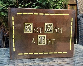 Once Upon a Time Scrapbook, Guest Book, Photo Album
