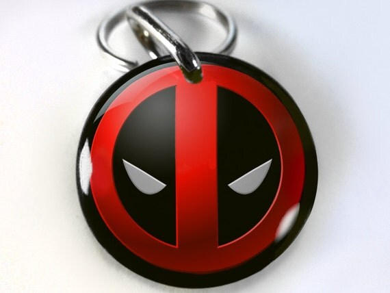 Deadpool Dog Collar
