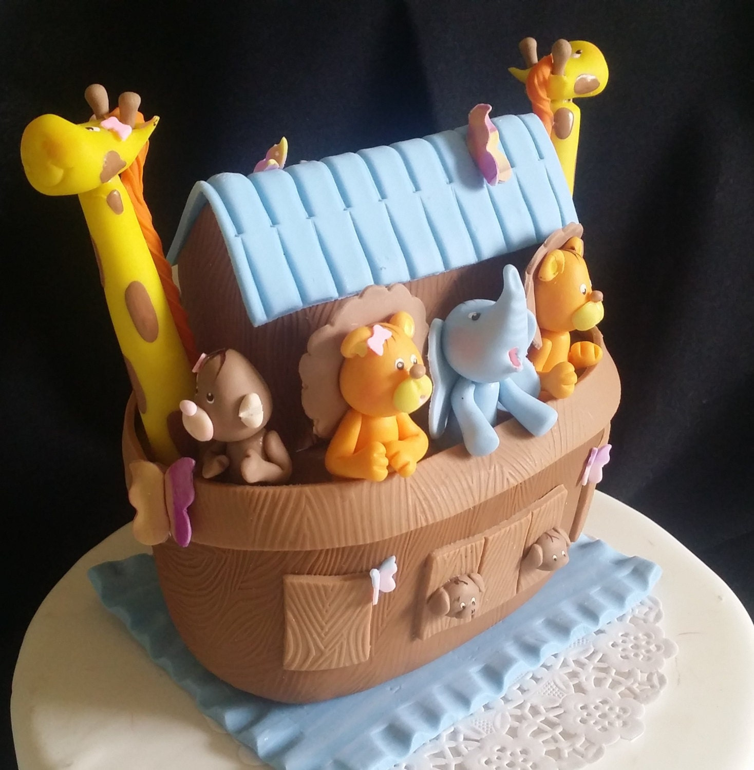 Noah S Ark Baby Shower Noah S Ark Cake Topper