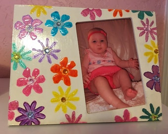 Flowers picture frame.