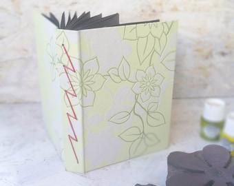 Lightning Bolt Stitch Journal , Black Paper Sketchbook , Blank Art Journal , Handbound Book , Sketch Book , Scrapbook , Handbound Journal