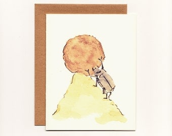 Funny Greeting Card, Congratulations, Accomplishment Dung Beetle Card