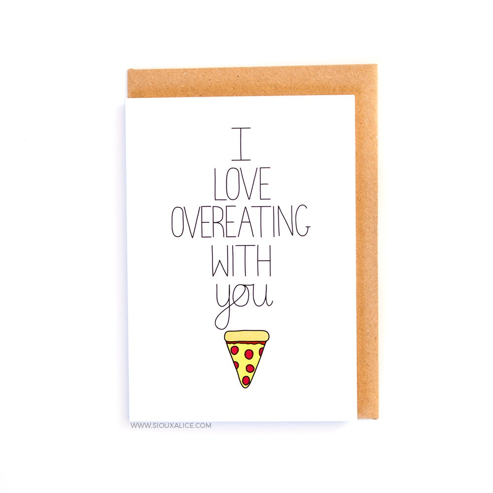 Valentines day card – Food Valentines Day Cards