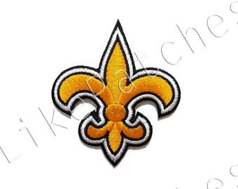 Yellow Scout Sign New Sew / Iron On Patch Embroidered Applique Size 7.8cm.x9cm.