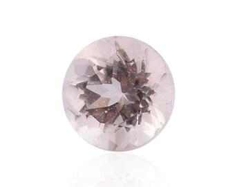 Morganite Round Cut Loose Gemstone 1A Quality 4mm TGW 0.20 cts.