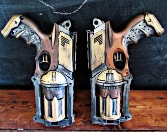 Steampunk gun, Nerf maveric,