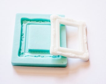 Silicone Square Framed Mold