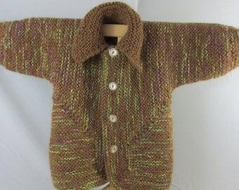 Alpaca Toddler Cardigan Sweater
