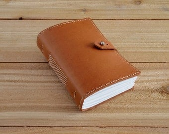 4X6 Wheat, Handmade Leather Journal