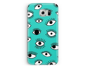 For Samsung Galaxy S7, Cute S7 Cover, Eye Phone Case, Cute Samsung Case, Case for S7 Edge, Protective Case, Samsung S7 Edge Plus Case