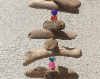 Driftwood Garland/Mobile (with beads)