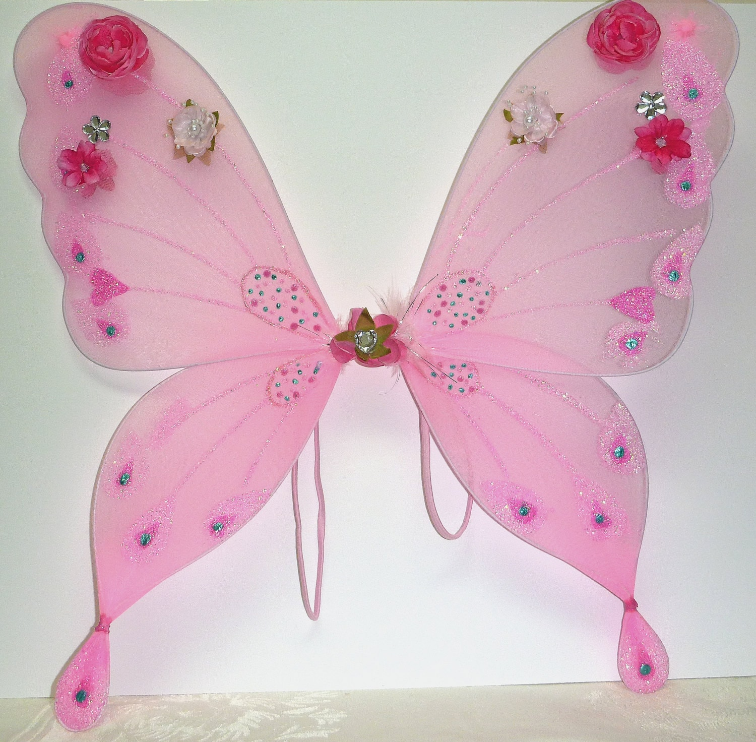light pink fairy wings sweatheart pink butterfly wings with. Black Bedroom Furniture Sets. Home Design Ideas