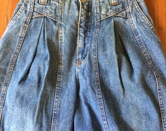 Vintage seam jean high waisted