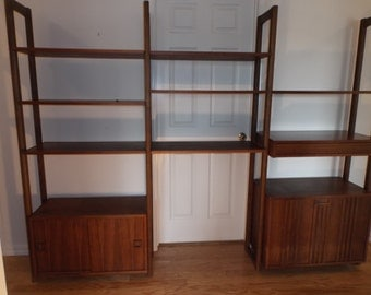 Ello Modular Mid-Century Modern Wall Unit.  Perfect for your '60's Danish modern home