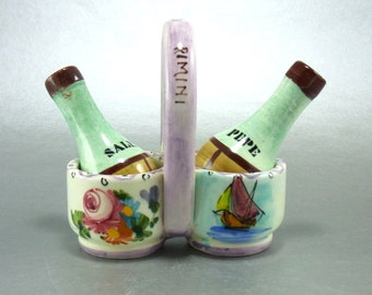 Vintage Souvenir Italian Salt and Pepper Shakers