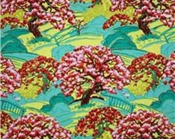 END of BOLT 39 inches, Cameo - Spring's Beauty in Scarlet by Amy Butler for Free Spirit Fabrics 4005