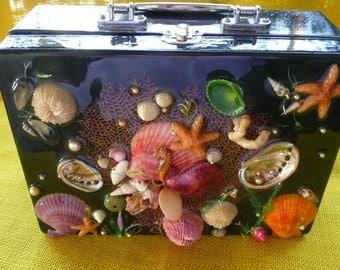 Starfish and Seahorse Purse