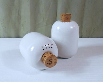 Heath Ceramics Salt and Pepper Shakers - Modernist Salt and Pepper