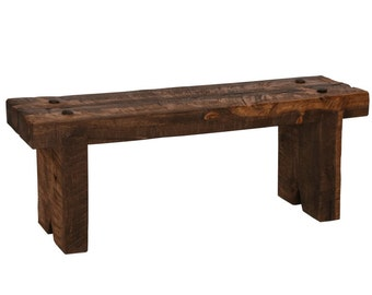 Bench, Rustic Bench, Timber Bench