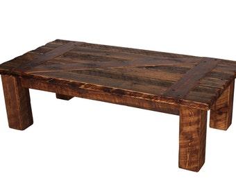 Coffee Table Barn Door Coffee Table Rustic Coffee Table Heritage Coffee Table