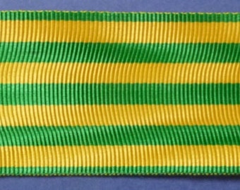 French Medal Ribbon For The Vietnam (Indo China) Campaign Medal