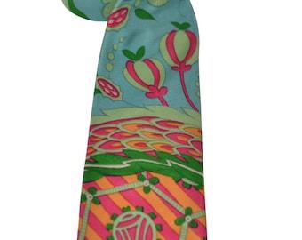Vintage Estate Silk Stinchfield by Talbott Multicolored Tie